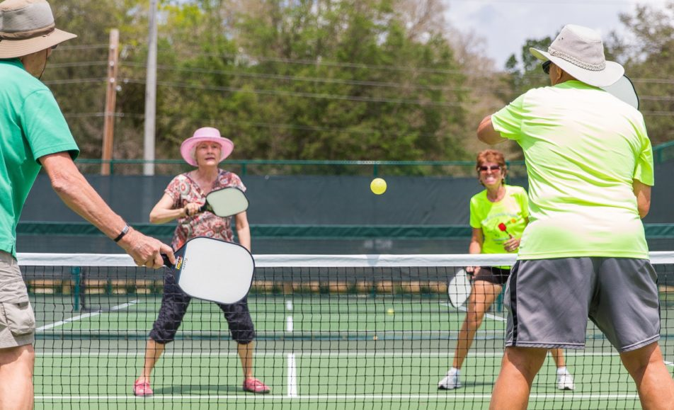 Canyon Lake Pickleball Drills